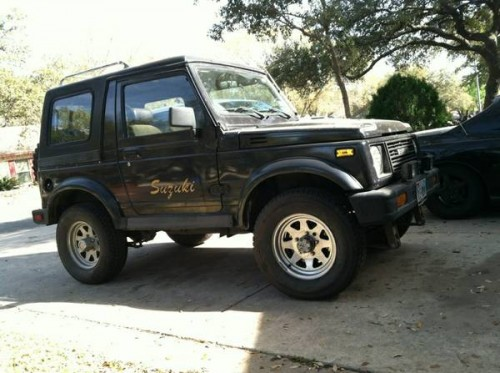 1987 suzuki samurai hardtop for sale insan anotonio texas. Black Bedroom Furniture Sets. Home Design Ideas