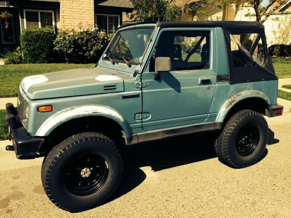 Suzuki Samurai For Sale in California North American