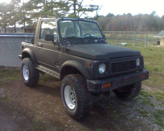 Used Suzuki Samurai For Sale In North Carolina