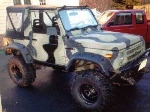1994 Suzuki Samurai Softop For Sale in South Jersey, New ...