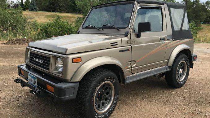 1989 Suzuki Samurai Soft Top For Sale in Centennial, Colorado
