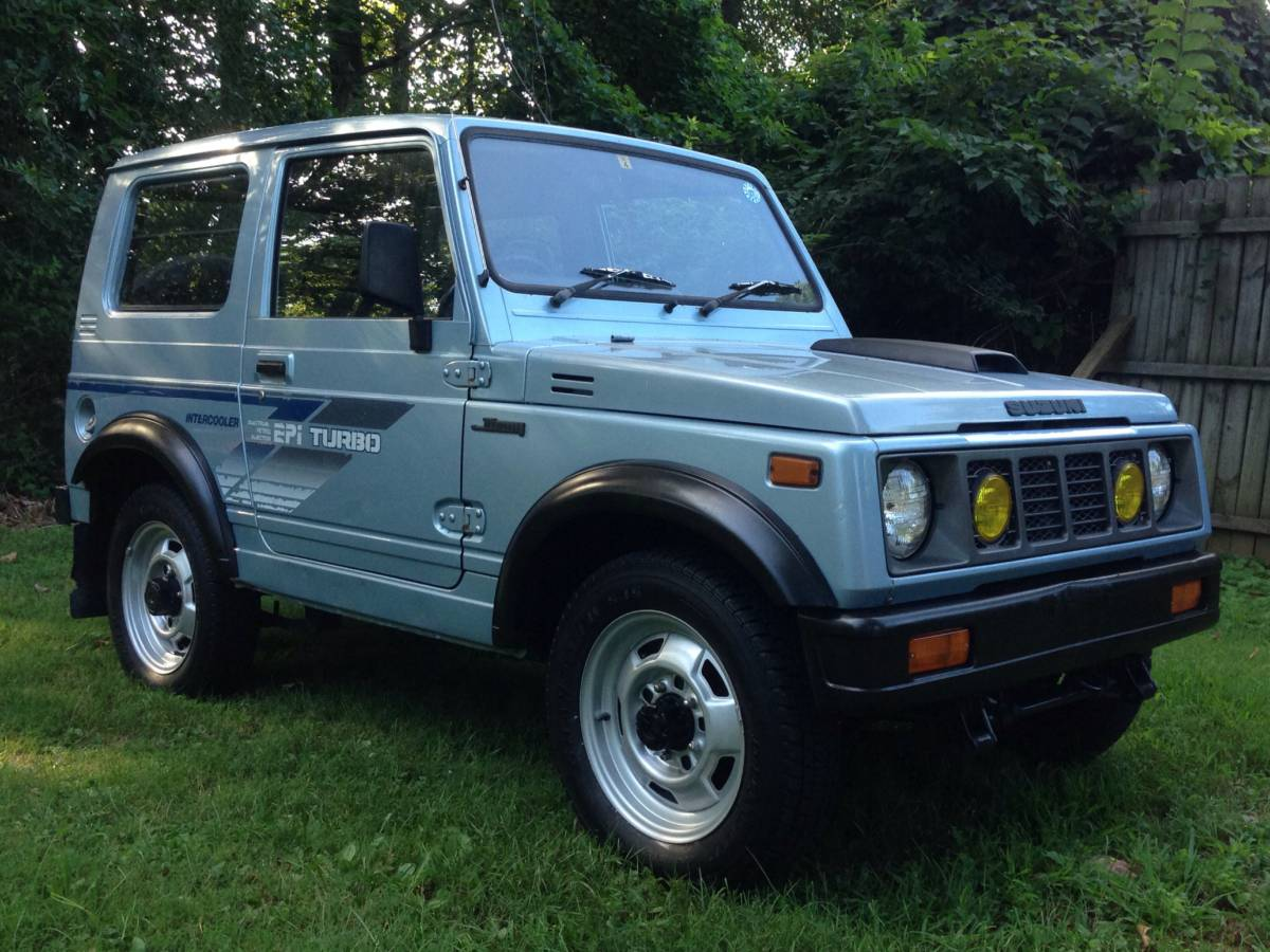 1990 suzuki samurai tin top for sale in washington d c. Black Bedroom Furniture Sets. Home Design Ideas